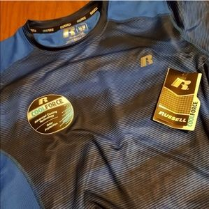 NWT Russell Athletic  Cool Force Shirt